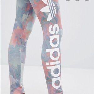 adidas Other - Adidas Pastel Camel Leggings